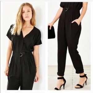 COPE by Urban Outfitters Belted Jumpsuit